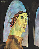 Self Portrait 1915 - Lyonel Feininger