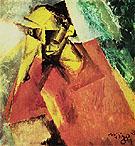 Portrait of a Tragic Being 1920 - Lyonel Feininger