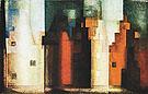Architecture III Gables II 1927 - Lyonel Feininger