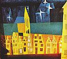 Stars Above the Town 1932 - Lyonel Feininger