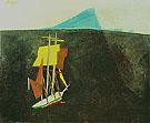 The Blue Island 1934 - Lyonel Feininger