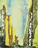 Manhattan I 1940 - Lyonel Feininger