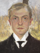 Self Portrait in Florence 1907 - Max Beckman