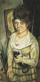 Portrait of Friend Battenberg 1920 - Max Beckman