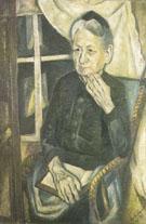 Portrait of Frau Tube 1919 - Max Beckman