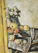 Still Life with Margurites 1921 - Max Beckman