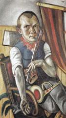 Self Portrait as Clown 1921 - Max Beckman