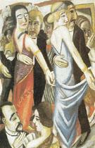 Before the Masquerade Ball 1922 - Max Beckman