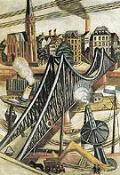 The Iron FootBridge 1922 - Max Beckman