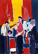 Le Jazz Musicians - Nicolas De Stael