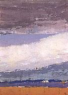 Sky in Honfleur - Nicolas De Stael