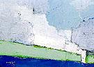 Paysage de Vaucluse No 3 1953 - Nicolas De Stael