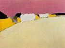 Landscape the Road to Uzes 1954 - Nicolas De Stael