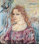 Alma Mahler 1912 - Oskar Kokoschka