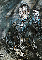 Baron Viktor von Dirsztay 1911 - Oskar Kokoschka