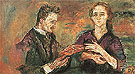 Hans Tietze and Erica Tietze Conrat 1909 - Oskar Kokoschka