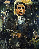 Portrait of Leo Kestenberg c1926 - Oskar Kokoschka