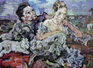Lovers with Cat - Oskar Kokoschka