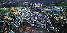 Knight Errant 1915 - Oskar Kokoschka