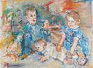 Davis Children - Oskar Kokoschka