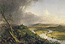 View from Mount Holyoke Northampton Massachusetts After a Thunderstorm The Oxbow 1836 - Thomas Cole