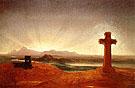 Cross at Sunset - Thomas Cole