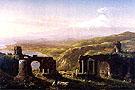 Mount Aetna from Taormina Sicily - Thomas Cole