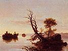 Lake Scene - Thomas Cole