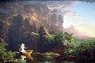 The Voyage of Life Childhood 1842 - Thomas Cole