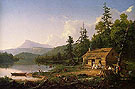 A Home In The Woods - Thomas Cole