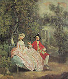 The Painter and His Wife 1746 - Thomas Gainsborough