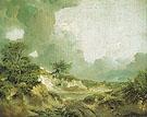 Landscape with Sandpit 1746 - Thomas Gainsborough