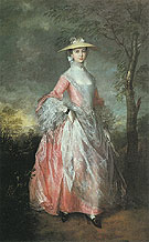 Mary Countess Howe 1763 - Thomas Gainsborough