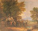 The Harvest Waggon 1767 - Thomas Gainsborough