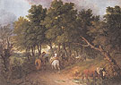 Peasants Returning from Market 1767 - Thomas Gainsborough