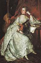 Ann Ford 1760 - Thomas Gainsborough