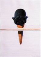 Black Ice Cream 1967 - Wayne Thiebaud