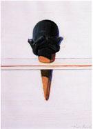 Black Ice Cream 1967 - Wayne Thiebaud