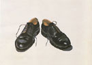 Black Shoes - Wayne Thiebaud