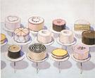 Cakes 1963 - Wayne Thiebaud