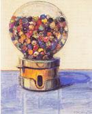 Candy Ball Machine 1977 - Wayne Thiebaud