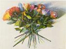 Flower Fan 1983 - Wayne Thiebaud