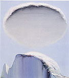 Half Dome and Cloud 1975 - Wayne Thiebaud