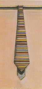 Striped Necktie 1968 - Wayne Thiebaud