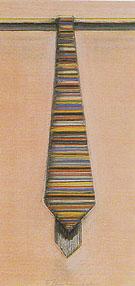 Striped Necktie 1968 - Wayne Thiebaud