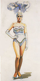 Revue Girl 1963 - Wayne Thiebaud