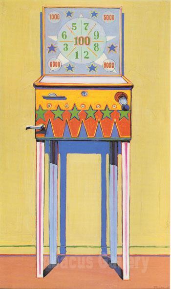 wayne thiebaud paintings. Wayne Thiebaud - Star Pinball