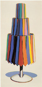 Tie Rack 1969 - Wayne Thiebaud