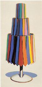 Tie Rack 1969 - Wayne Thiebaud