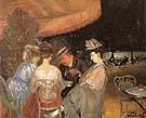 Cafe De La Paix - William Glackens